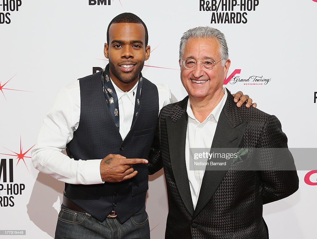 Mario and BMI President and CEO, Del Bryant attends 2013 BMI R&B/Hip-Hop Awards at Hammerstein Ballroom on August 22, 2013 in New York City.