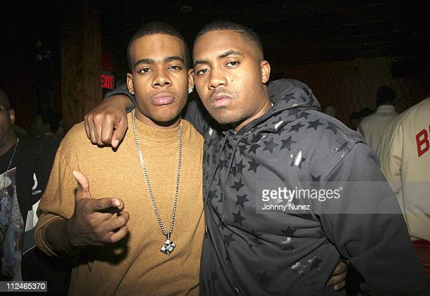 Mario and Nas **Exclusive Coverage ** during Nelly and Daddy Yankee Host Reebok After Party at Marquee in New York New York United States