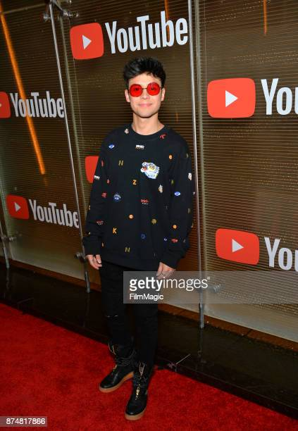 Mario Andres Ruiz at YouTube Musica sin fronteras A Celebration of Latin Music at Jewel Nightclub at the Aria Resort Casino on November 15 2017 in...