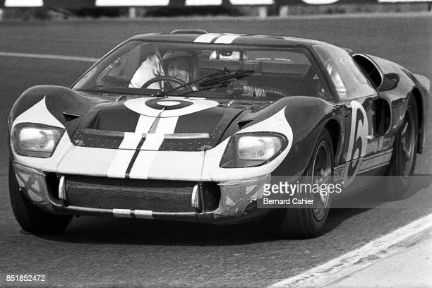 Mario Andretti Ford Mk II 24 Hours of Le Mans Le Mans 19 June 1966