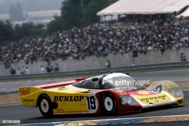 Mario Andretti Michael Andretti John Andretti Porsche 962C 24 Hours of Le Mans Le Mans 06 December 1988