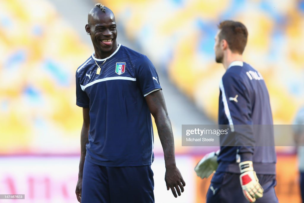 Italy Training and Press Conference - UEFA EURO 2012 Final