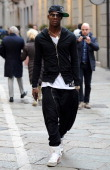 Mario Balotelli is seen on March 5 2013 in Milan Italy