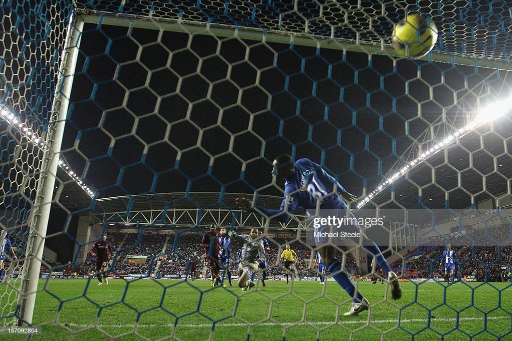 Wigan Athletic v Manchester City - Premier League