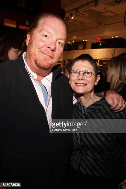 Mario Batali and Dorie Greenspan attend Epicurious 15th Anniversary Dinner at Eataly on September 29 2010 in New York
