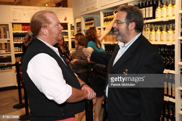 Mario Batali and Drew Nieporent attend Epicurious 15th Anniversary Dinner at Eataly on September 29 2010 in New York
