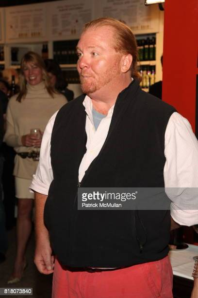 Mario Batali attends Epicurious 15th Anniversary Dinner at Eataly on September 29 2010 in New York