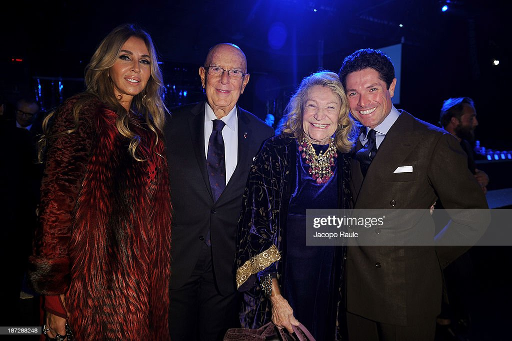 Mario Boselli, Marta Marzotti and <a gi-track='captionPersonalityLinkClicked' href=/galleries/search?phrase=Matteo+Marzotto&family=editorial&specificpeople=624134 ng-click='$event.stopPropagation()'>Matteo Marzotto</a> attend the Mittelmoda Special Edition 2013 for Lectra on November 7, 2013 in Milan, Italy.