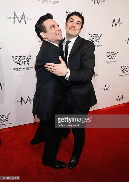 Mario Cantone and Jason Biggs attend 2016 Humane Society of the United States to the Rescue New York Saving Animal Lives at Cipriani 42nd Street on...