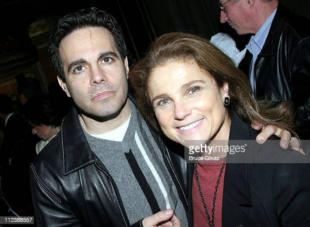 Mario Cantone and Tovah Feldshuh during The 2005 Broadway Cares/Equity Fights AIDS 'Gypsy of The Year Competition' at The Neil Simon Theater in New...