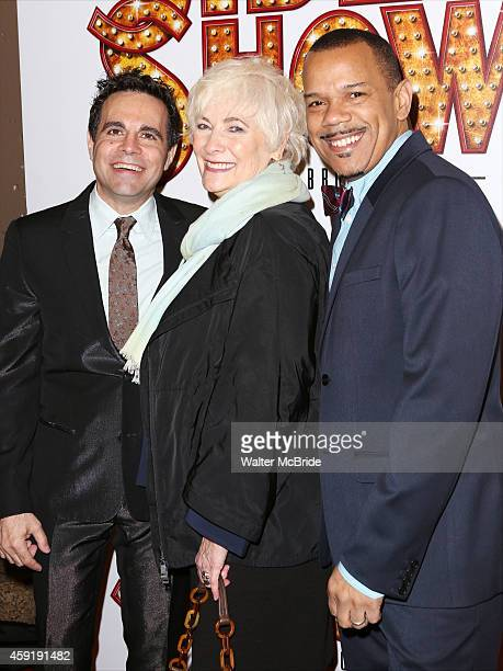 Mario Cantone Betty Buckley and Jerry Dixon attend the Broadway Opening Performance of 'Side Show' at St James Theatre Theatre on November 17 20142...