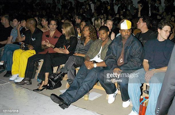 Mario Cantone Chili Usher and Damon Dash