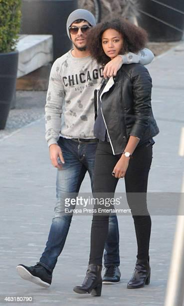 Mario Casas and Berta Vazquez are seen on January 11 2015 in Marbella Spain