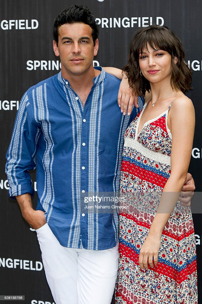 <a gi-track='captionPersonalityLinkClicked' href=/galleries/search?phrase=Mario+Casas&family=editorial&specificpeople=4617963 ng-click='$event.stopPropagation()'>Mario Casas</a> and <a gi-track='captionPersonalityLinkClicked' href=/galleries/search?phrase=Ursula+Corbero&family=editorial&specificpeople=5514327 ng-click='$event.stopPropagation()'>Ursula Corbero</a> attend Springfield summer campaign presentation at Fortuny on May 4, 2016 in Madrid, Spain.
