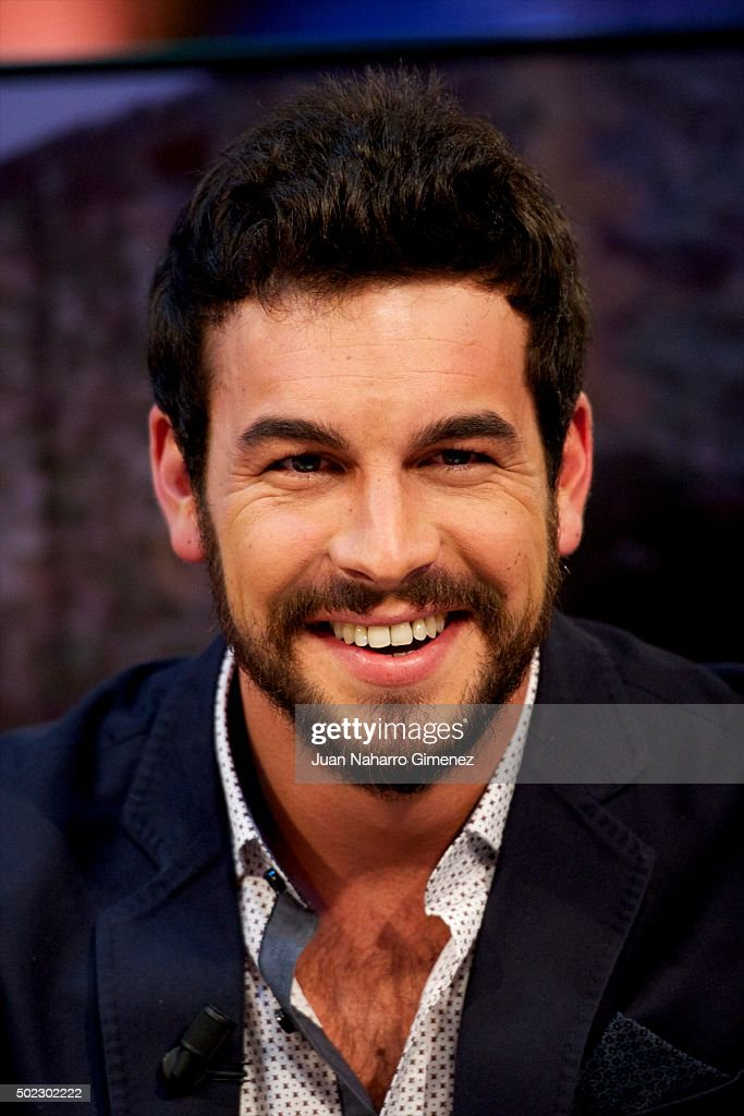 Mario Casas And Berta Vazquez Attends 'El Hormiguero' Tv Show