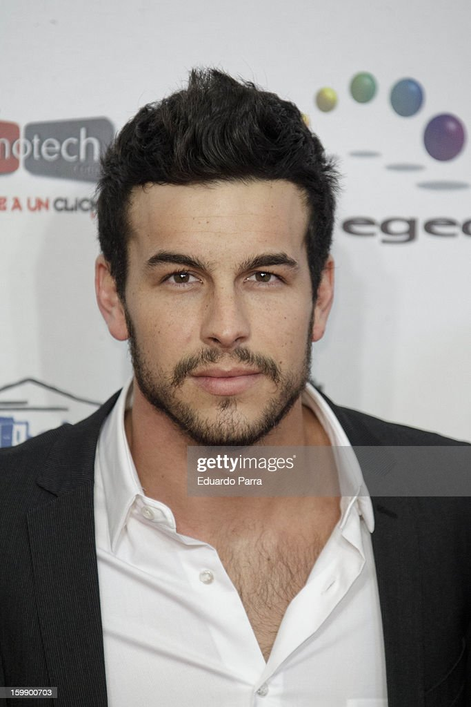 Mario Casas attends Jose Maria Forque awards photocall at Canal theatre on January 22, 2013 in Madrid, Spain.