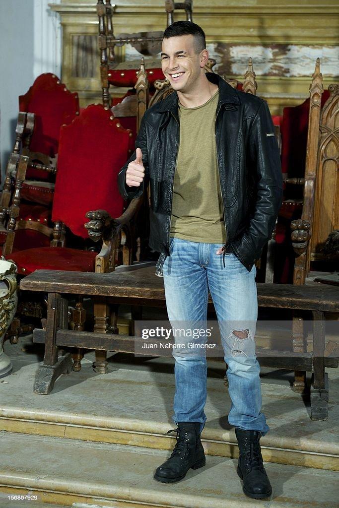 Mario Casas attends 'Las Brujas de Zugarramurdi' on set filming at Palacio del Infante Don Luis on November 23, 2012 in Madrid, Spain.