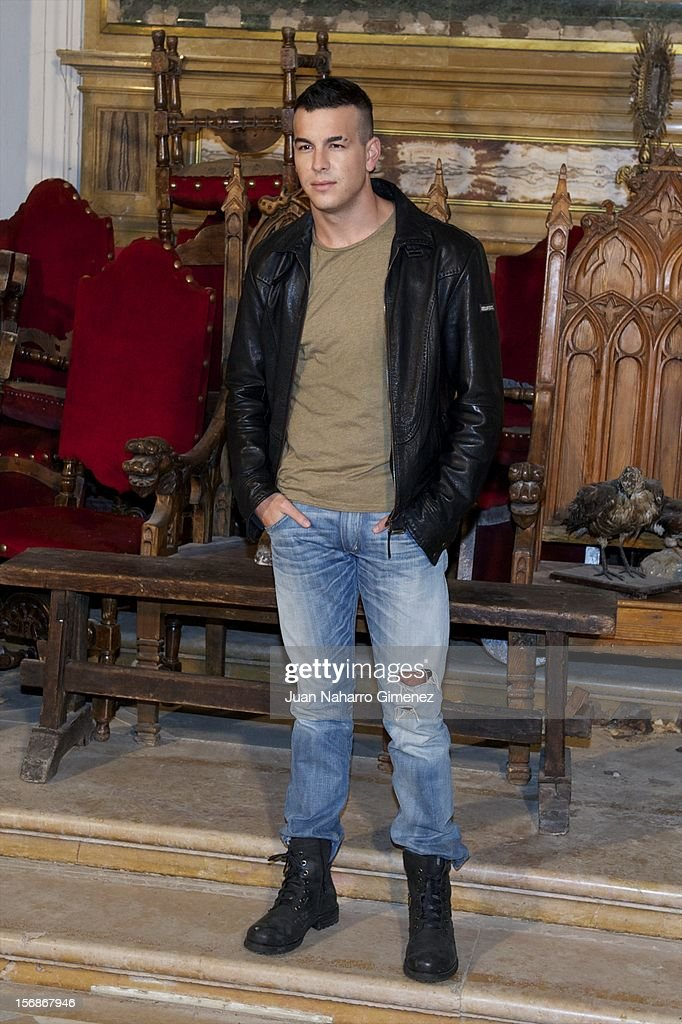 Mario Casas attends 'Las Brujas de Zugarramurdi' on set filming at Palacio del Infante Don Luis on November 23, 2012 in Madrid, Spain.