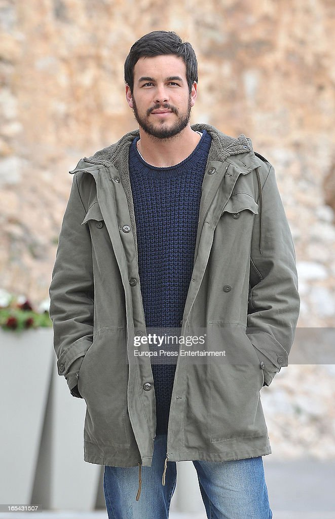 <a gi-track='captionPersonalityLinkClicked' href=/galleries/search?phrase=Mario+Casas&family=editorial&specificpeople=4617963 ng-click='$event.stopPropagation()'>Mario Casas</a> is seen on the set of their latest film 'Ismael' on March 25, 2013 in Barcelona, Spain.