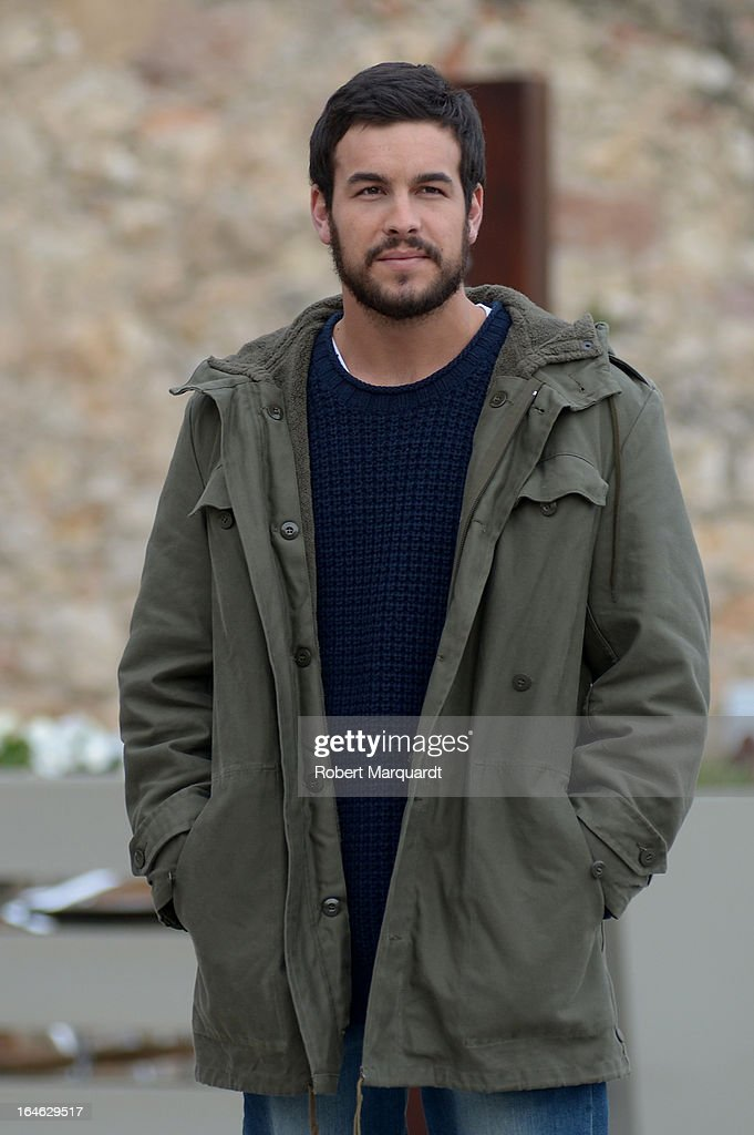 <a gi-track='captionPersonalityLinkClicked' href=/galleries/search?phrase=Mario+Casas&family=editorial&specificpeople=4617963 ng-click='$event.stopPropagation()'>Mario Casas</a> on the set of his latest film 'Ismael' on March 25, 2013 in Barcelona, Spain.