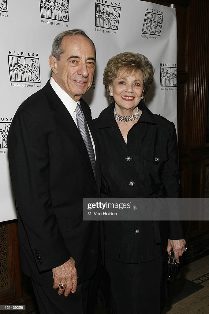 Mario Cuomo and Mathilda Cuomo during HELP USA's 20th Anniversary Tribute Awards Dinner at Gotham Hall in New York NY United States