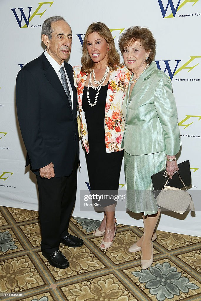 Mario Cuomo Maria Cuomo Cole and Matilda Cuomo attend the 3rd Annual Elly Awards Luncheon at The Plaza Hotel on June 25 2013 in New York City