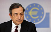 Mario Draghi President of the European Central Bank gives a press conference following the meeting of the ECB Governing Council in Frankfurt am Main...