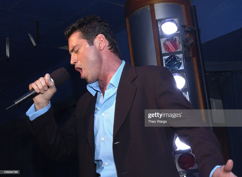 Mario Frangoulis during Mario Frangoulis Performs for Intimate Crowd at Babalu at Babalu in New York City, New York, United States.