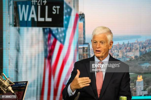 Mario Gabelli chief investment officer of value portfolios at Gabelli Funds LLC speaks during a Bloomberg Television interview in New York US on...