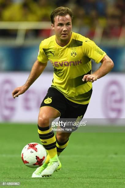 Mario Goetze of Borussia Dortmund in action during the preseason friendly match between Urawa Red Diamonds and Borussia Dortmund at Saitama Stadium...