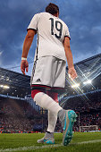 Mario Goetze of Germany enters the field for the international friendly match between Germany and USA at RheinEnergieStadion on June 10 2015 in...