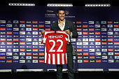 ESP: Atletico Madrid Presents New Signings Kieran Trippier And Mario Hermoso