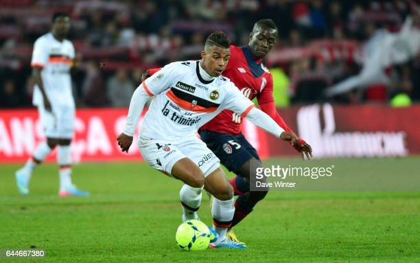 Mario LEMINA Lille / Lorient 31e journee de Ligue 1 Photo Dave Winter / Icon Sport