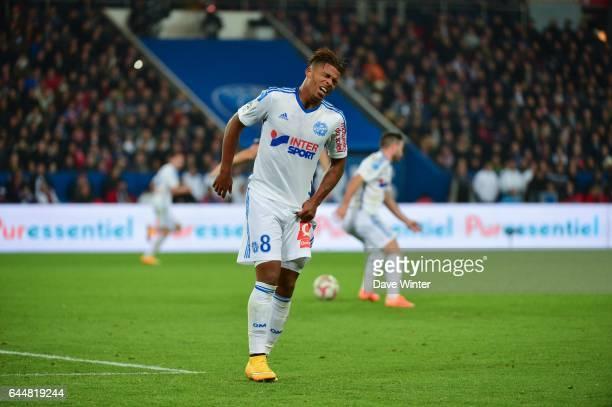 Mario LEMINA Paris Saint Germain / Marseille 13eme journee de Ligue 1 Photo Dave Winter / Icon Sport