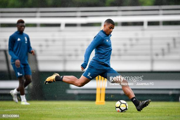 Mario Lemina during the morning training session on July 25 2017 in Boston City