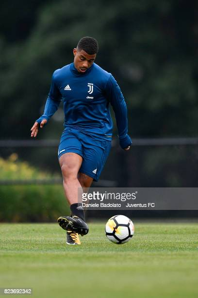 Mario Lemina of Juventus FC during the afternoon training session on July 27 2017 in Boston Massachusetts