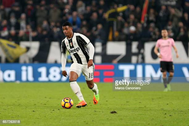 Mario Lemina of Juventus Fc in action during the Serie A match between Juventus FC and US Palermo at Juventus Stadium Juventus FC wins 41 over US...