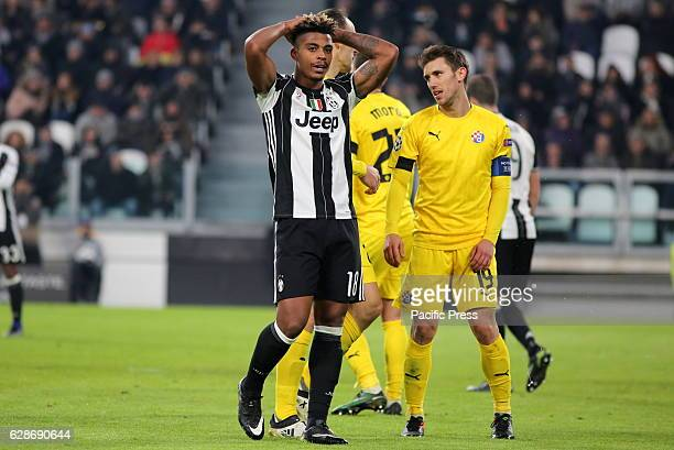 Mario Lemina of Juventus in action during the Champions League football match between Juventus FC and GNK Dinamo Zagreb Juventus FC win 20 over...