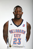Mario Little of the Oklahoma City Blue poses for a photo during media day on November 10 2014 at the Integris Training Center in Edmond Oklahoma NOTE...