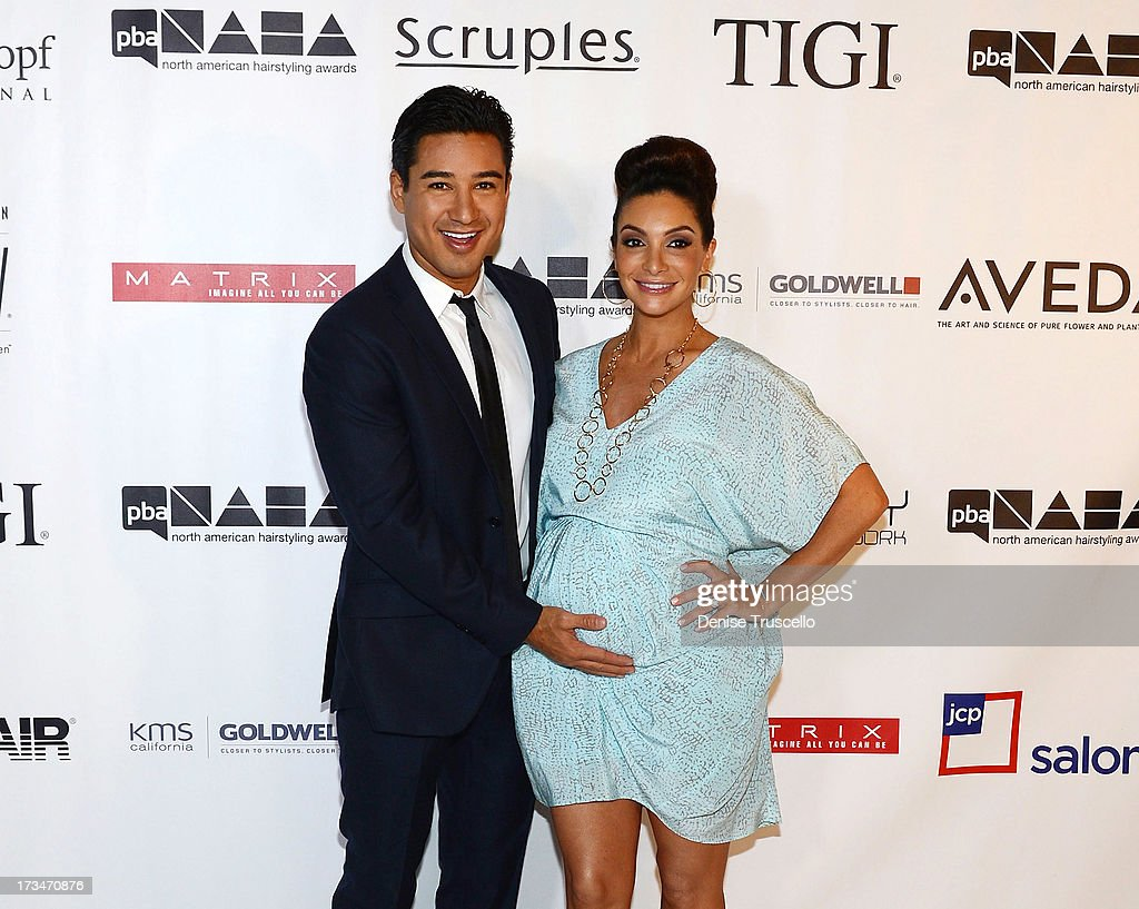 Mario Lopez Receives The Beautiful Humanitarian Award at the 2013 North American Hairstyling Awards at Mandalay Bay