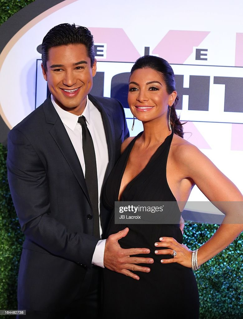 <a gi-track='captionPersonalityLinkClicked' href=/galleries/search?phrase=Mario+Lopez&family=editorial&specificpeople=235992 ng-click='$event.stopPropagation()'>Mario Lopez</a> and <a gi-track='captionPersonalityLinkClicked' href=/galleries/search?phrase=Courtney+Mazza&family=editorial&specificpeople=5650960 ng-click='$event.stopPropagation()'>Courtney Mazza</a> attend the Muhammad Ali's Celebrity Fight Night XIX held at JW Marriott Desert Ridge Resort & Spa on March 23, 2013 in Phoenix, Arizona.