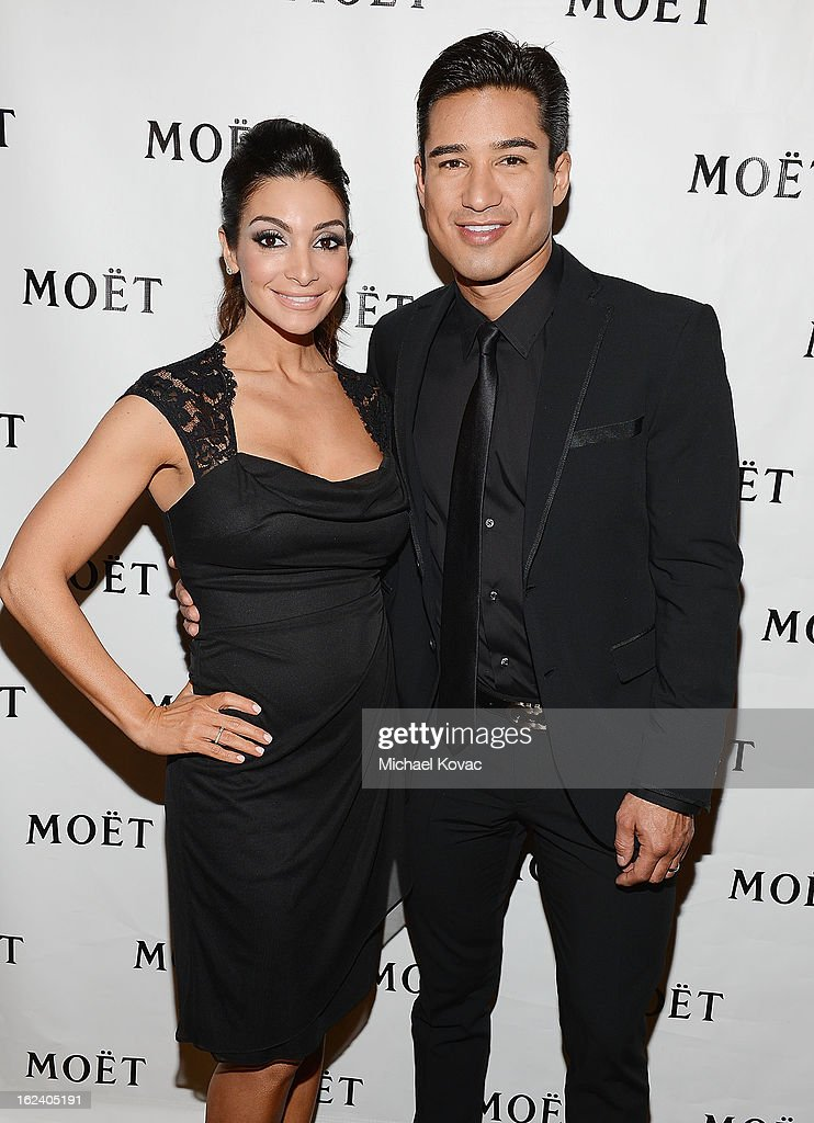 <a gi-track='captionPersonalityLinkClicked' href=/galleries/search?phrase=Mario+Lopez&family=editorial&specificpeople=235992 ng-click='$event.stopPropagation()'>Mario Lopez</a> (R) and <a gi-track='captionPersonalityLinkClicked' href=/galleries/search?phrase=Courtney+Mazza&family=editorial&specificpeople=5650960 ng-click='$event.stopPropagation()'>Courtney Mazza</a> attend The National Hispanic Media Coalition Impact Awards sponsored by Moet & Chandon at the Beverly Wilshire Four Seasons Hotel on February 22, 2013 in Beverly Hills, California.