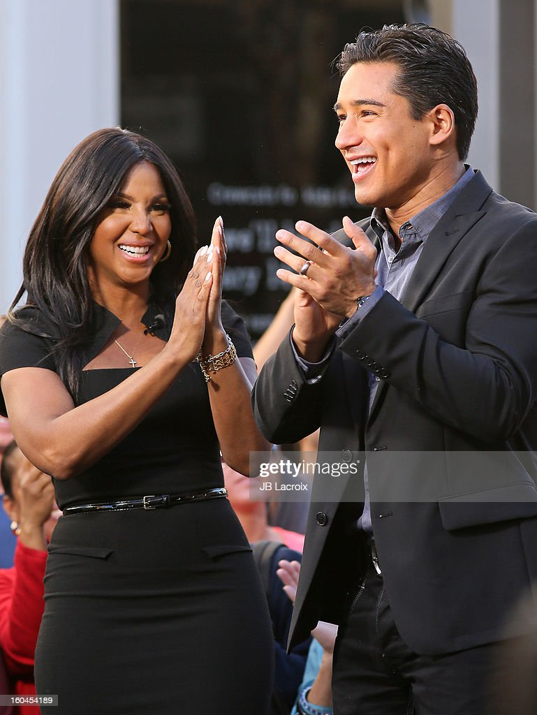 <a gi-track='captionPersonalityLinkClicked' href=/galleries/search?phrase=Mario+Lopez&family=editorial&specificpeople=235992 ng-click='$event.stopPropagation()'>Mario Lopez</a> and <a gi-track='captionPersonalityLinkClicked' href=/galleries/search?phrase=Toni+Braxton&family=editorial&specificpeople=213737 ng-click='$event.stopPropagation()'>Toni Braxton</a> are seen on January 31, 2013 in Los Angeles, California.