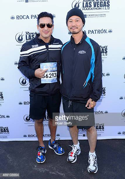 Mario Lopez and Tony Hsieh rocked the #StripatNight in the Rock 'n' Roll Las Vegas Half Marathon in Las Vegas on Sunday November 16th  benefitting...