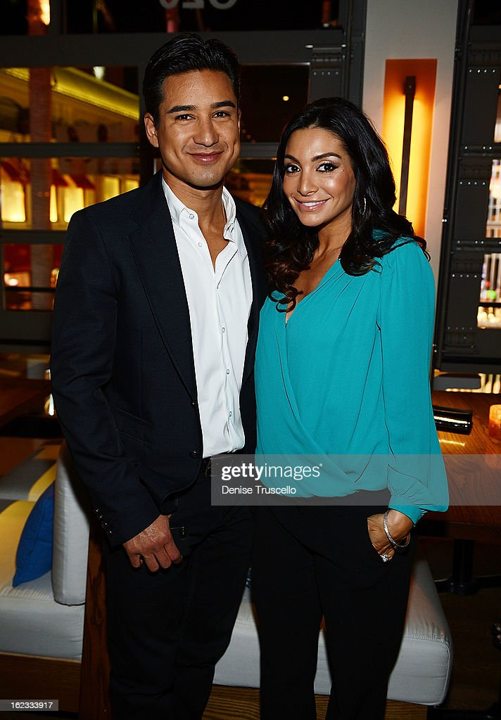 Mario Lopez and wife Courtney Mazza attend the Have A Heart benefit for organ donor recipients and their families at Mizology LA at the Farmers Market on February 21, 2013 in Los Angeles, California.