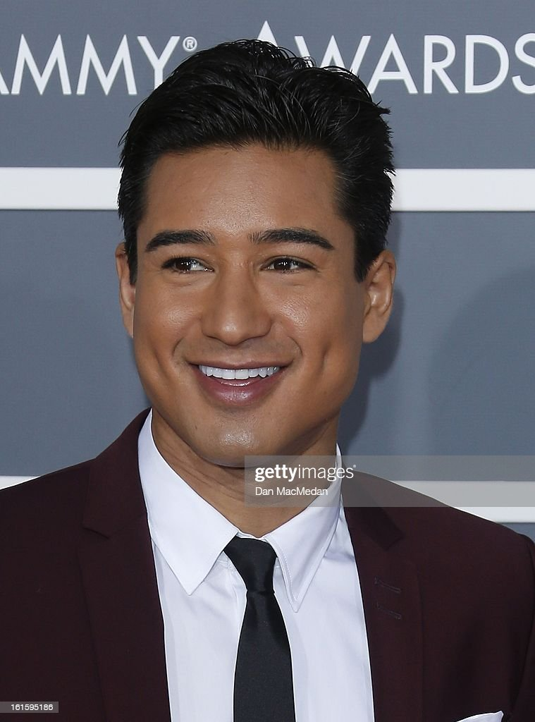 Mario Lopez arrives at the 55th Annual Grammy Awards at the Staples Center on February 10, 2013 in Los Angeles, California.