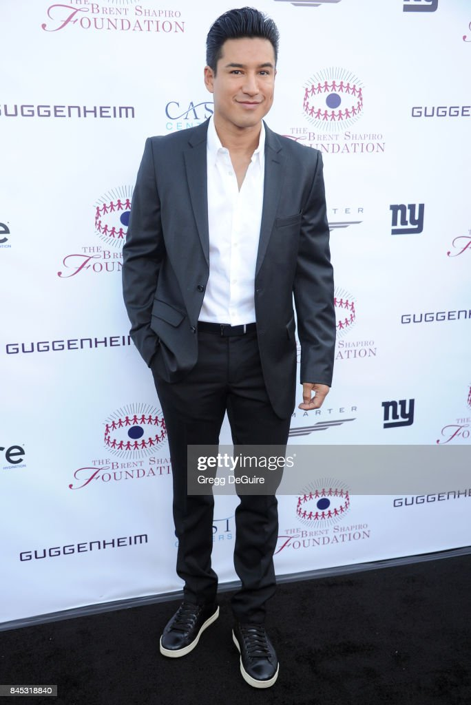 Mario Lopez arrives at the annual Brent Shapiro Foundation For Alcohol and Drug Prevention Summer Spectacular at a Private Residence on September 9, 2017 in Beverly Hills, California.