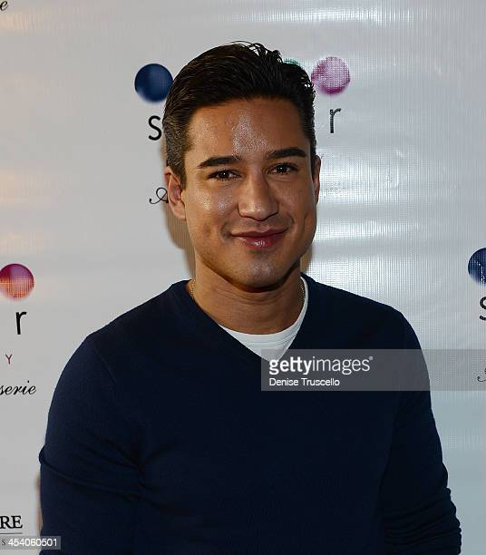 Mario Lopez arrives at the Sugar Factory grand opening at Town Square on December 6 2013 in Las Vegas Nevada
