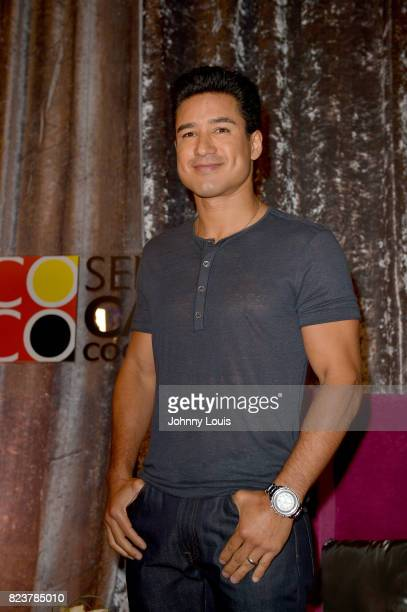 Mario Lopez attends and host Ladies Fun Night Out at Seminole Casino Coconut Creek on July 27 2017 in Coconut Creek Florida