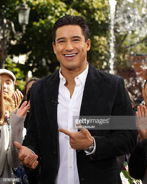 Mario Lopez attends Extra at The Grove on January 4 2011 in Los Angeles California